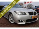 BMW 5-serie 525I HIGH EXE M SPORT MEGA VOL!! COMPLETE FACE LIFT OMBOUW! Vol leer zwart comfort zetels navipro xe