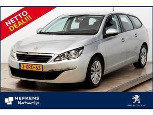 Peugeot 308 SW 1.6 BlueHDi 120pk * 14% * NAVIGATIE * AIRCO * CRUISE CONTROL