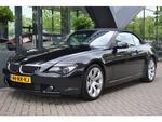 BMW 6-serie Cabrio 645CI S Zeer netjes | Sportstoelen leder | Navigatie | NL Auto | Nieuwprijs €135.000 |