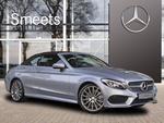Mercedes-Benz C-klasse Cabrio 180 Aut. AMG-SPORT PAKKET, PRESTIGE, COMPANY CAR, UW VOORDEEL: €9621