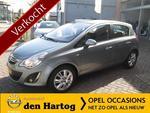 Opel Corsa 1.4-16V COSMO 5-Drs Automaat Navi Tel Pdc Half leder