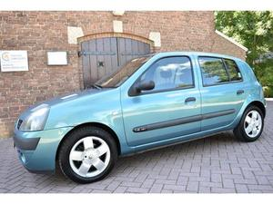Renault Clio 1.4-16V Automaat PRIVILÈGE LUXE 68.000 KM *** DOLLE DWAZE DAGEN, KOM LANGS EN PROFITEER VAN DEZE AKT