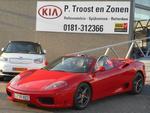 Ferrari 360 3.6 V8 Spider F1 Ex auto Davor Suker a.s. zondag geopend 12:00 - 17:00  m.u.v. Mizarstraat